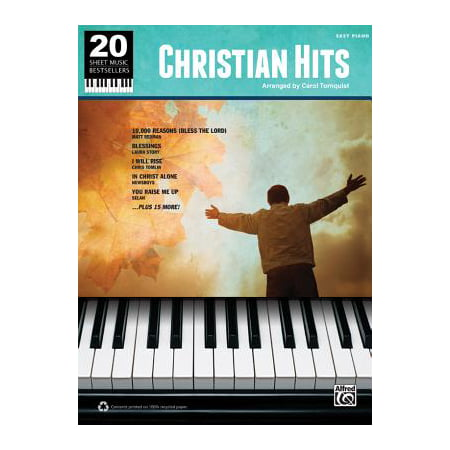20 Sheet Music Bestsellers -- Christian Hits : Easy Piano - Halloween Piano Sheet Music For Kids