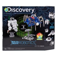 Discovery Build & Create Robotics Kit, STEM, D.I.Y. Robots, 8+