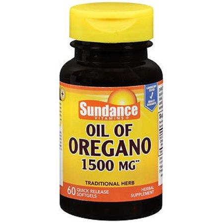 Sundance Vitamins Oil of Oregano 1500 mg Herbal Supplement Quick Release Softgels - 60 (Original Quick Release)