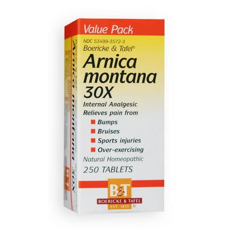 Arnica Montana 30X Boericke & Tafel 250 Tabs