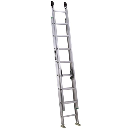 Louisville Ladder 16-Foot Aluminum Step Ladder, 225-Pound Capacity, Type II, W-2222-16PG