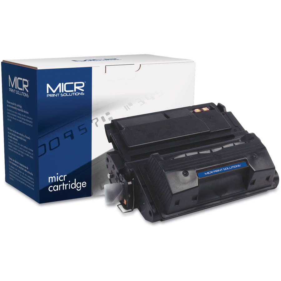 MICR Print Solutions Compatible with Q5942XM High-Yield MICR Black Toner Cartridge