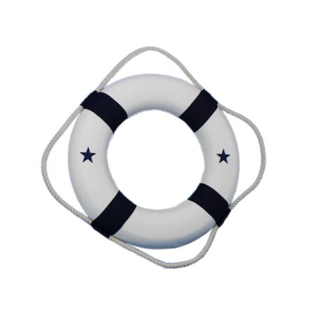 Nautical Beach Decor (Blue Lifering 15