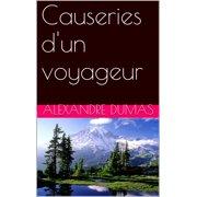 Causeries d'un voyageur - eBook