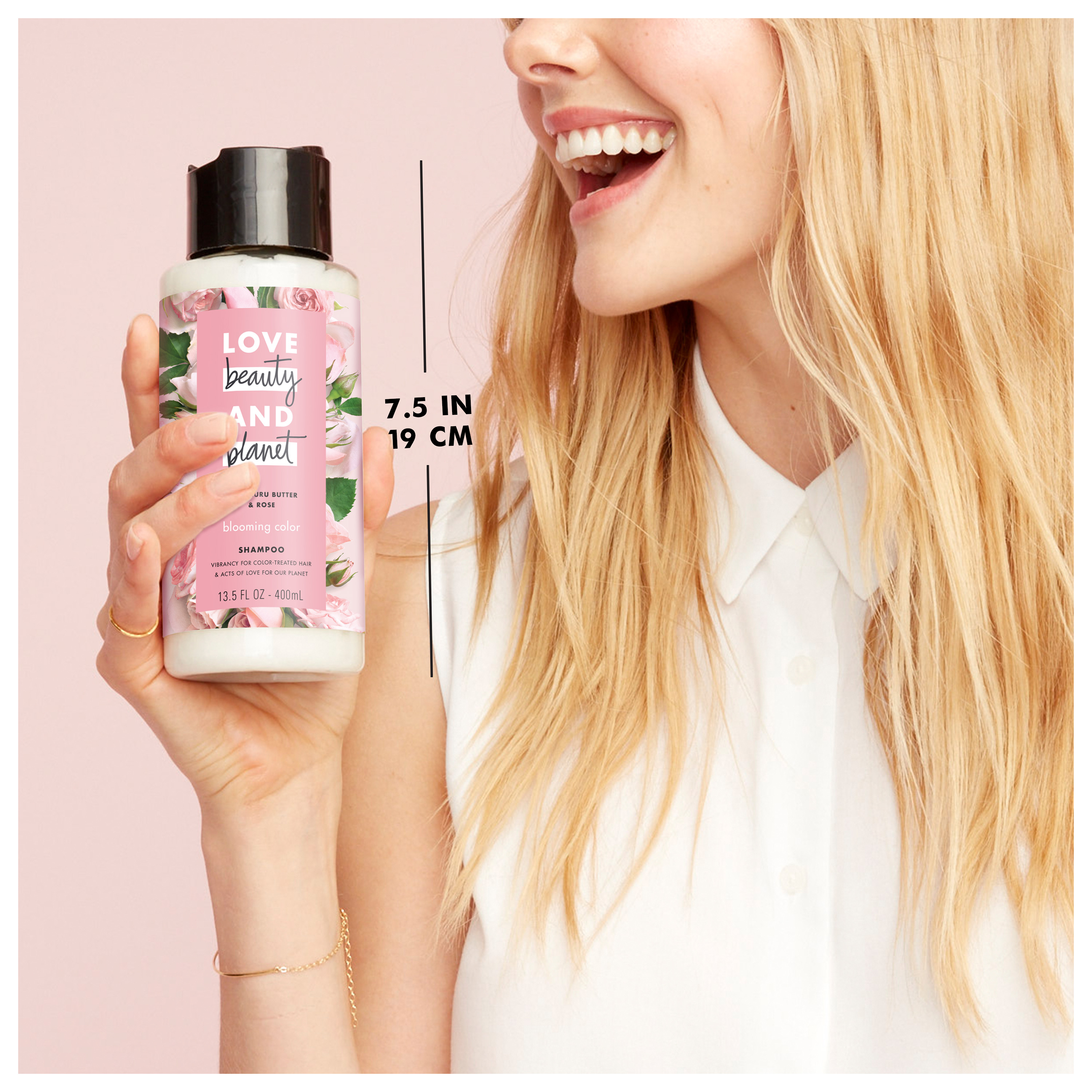Love Beauty And Planet Murumuru Butter Rose Shampoo Blooming Color