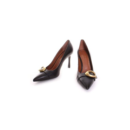 30b36b55aa8 Coach - Coach Womens Waverly Leather Pointed Toe Classic Pumps, Black  Leather, Size 7.5 - Walmart.com