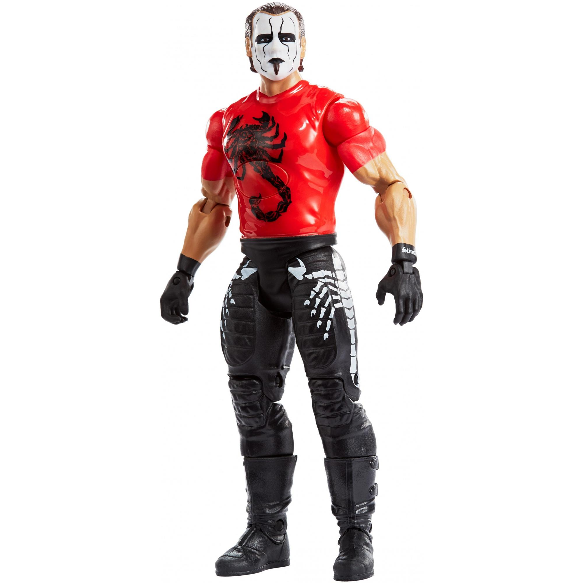 WWE Tough Talkers Total Tag Team Sting Action Figure by Mattel