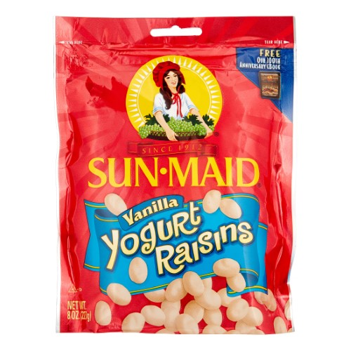 Sun-maid Yogurt Raisins (Pack of 4)