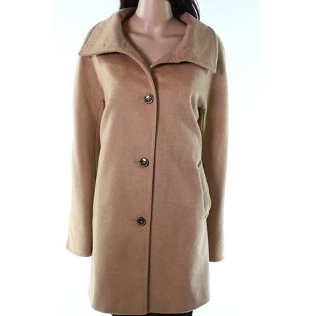 Button Wool Coat - Womens Medium Three Button Wool Coat M