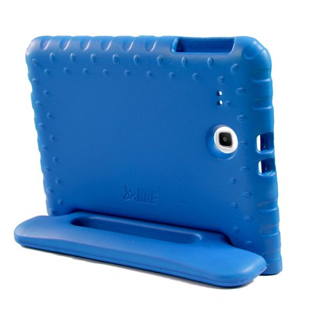 big sale ac711 40e14 HDE Kids Shockproof Case for Samsung Galaxy Tab E 9.6 Inch Protective Cover  Handle Stand (Blue)