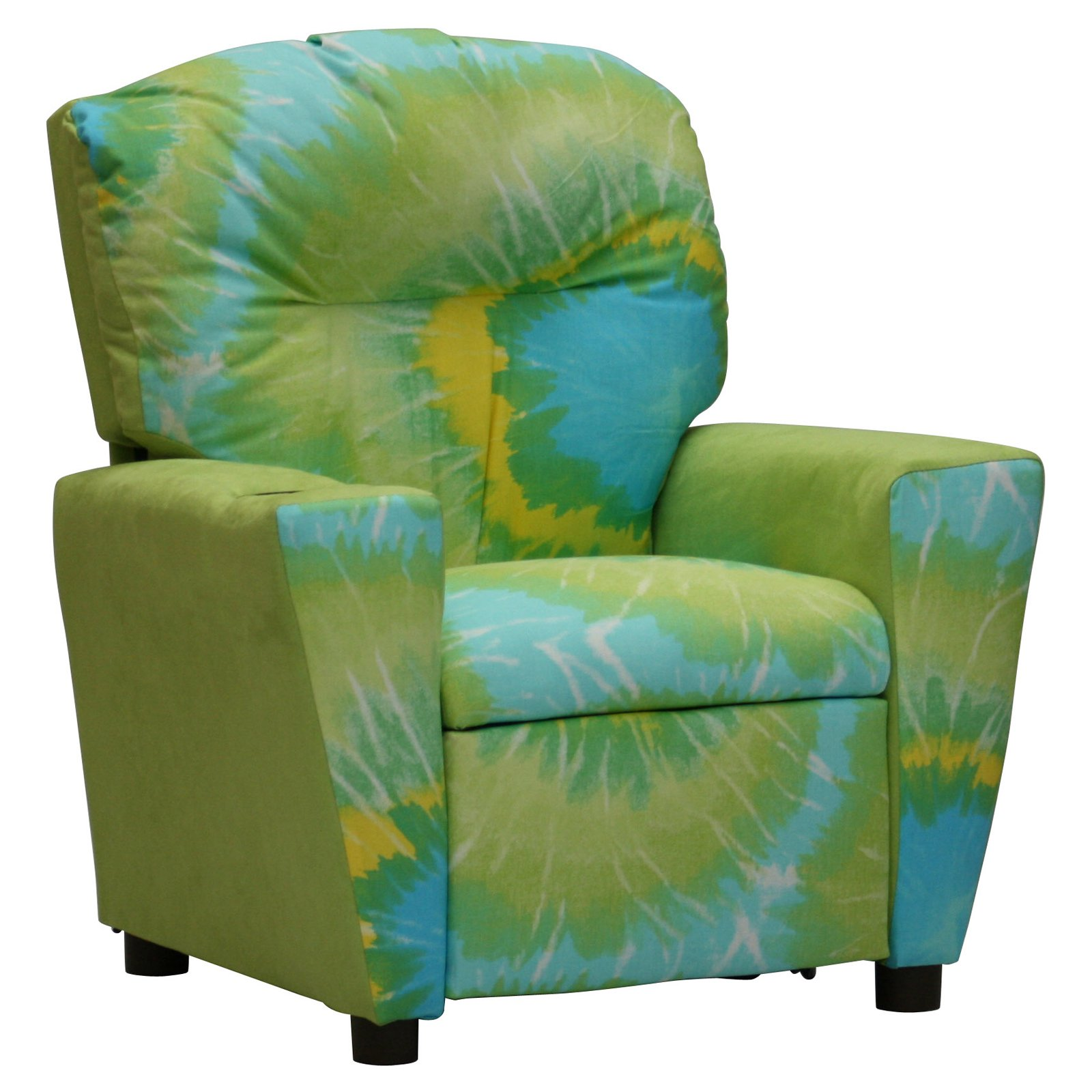 Kidz World Tie Dyed Kids Recliner