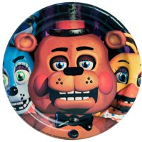Five Nights at Freddy's Paper Dessert Plates, 7in, 8ct