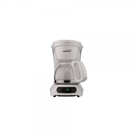 BRENTWOOD TS212 Brentwood 4-Cup Coffee Maker (White)