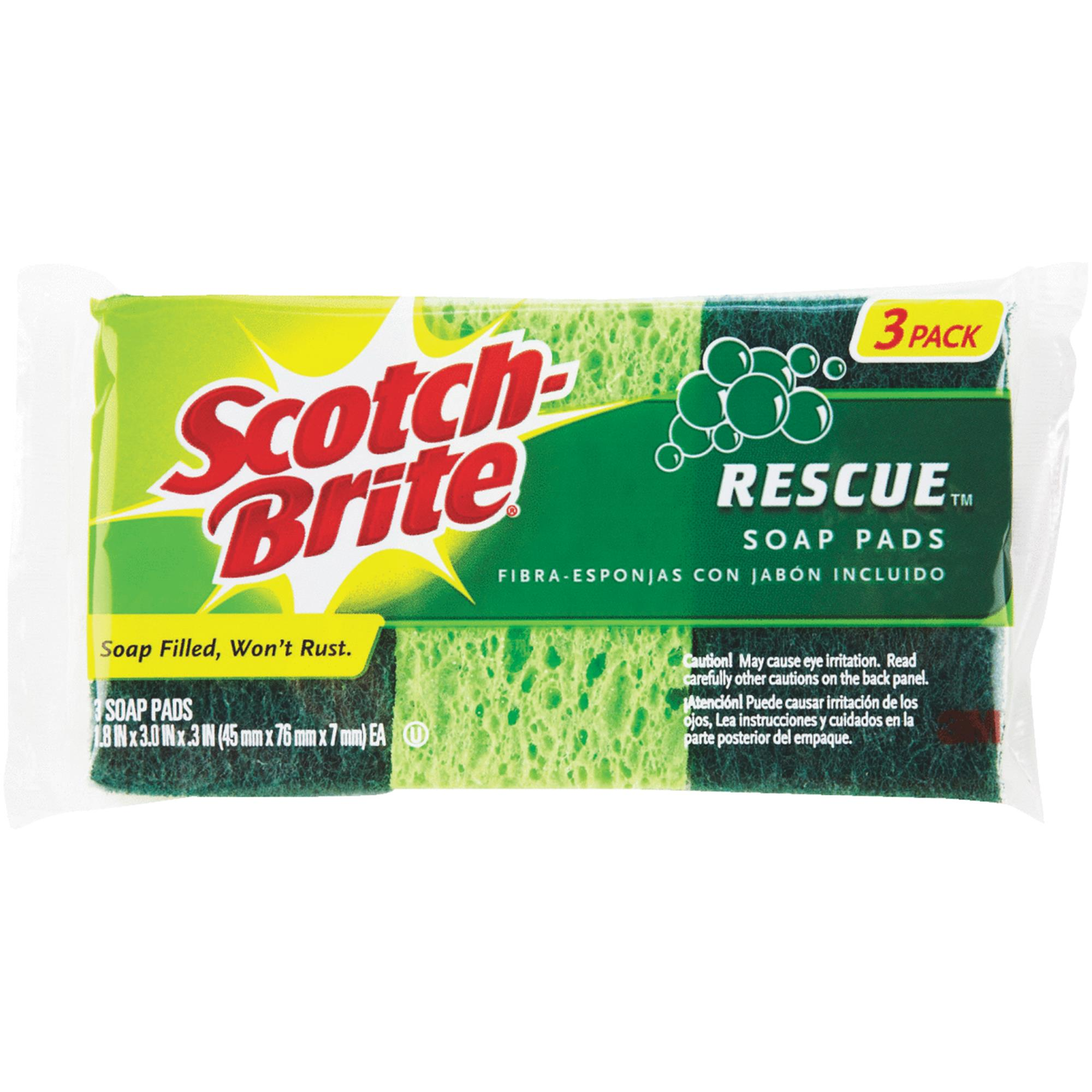 Scotch-Brite Soap Filled Scouring Pad