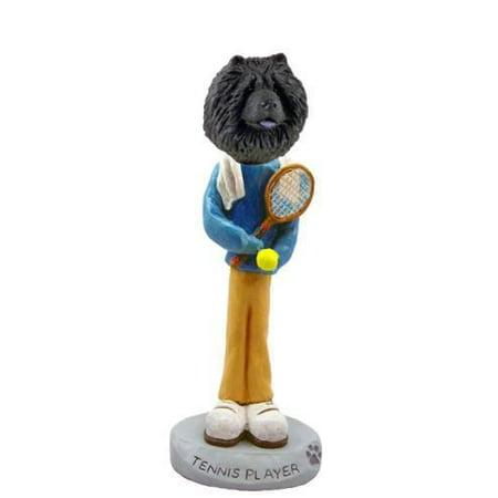 No.Doog21A26 Chow Black Tennis Player Doogie Collectable Figurine ()