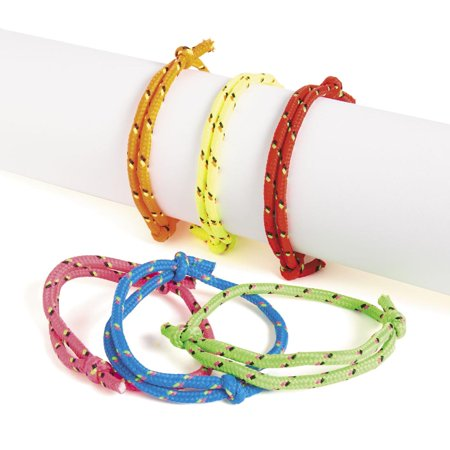 Friendship Rope Bracelets by Fun Express