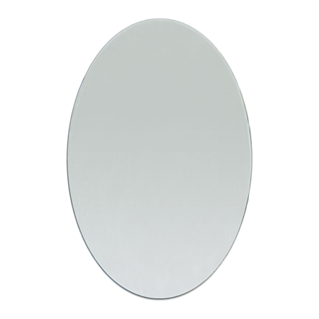 4 x 6 inch Oval Craft Mirror 1 Piece Mosaic Tiles ()