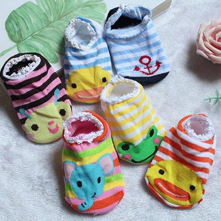 Baby Early Education Cartoon Dispensing Bottom Boat Socks Baby Anti-skid Socks - image 5 of 10