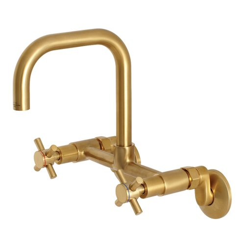 Kingston Brass Concord Adjustable Wall Mount Bridge Faucet