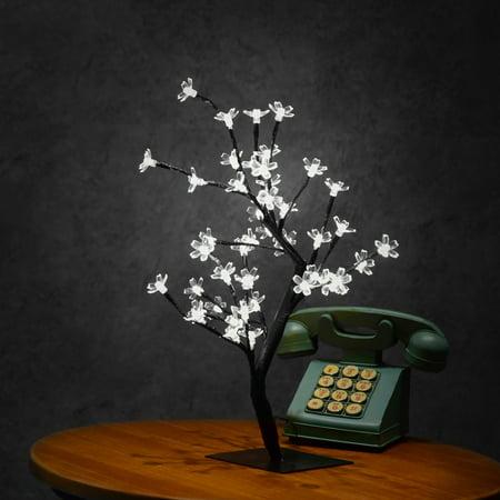 0.45M 48LED Cherry Blossom Desk Top Bonsai Tree Light ()
