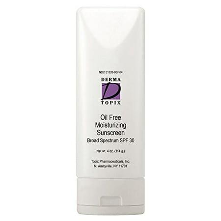 Topix Oil Free Moisturizing Sunscreen SPF 30 - 4 oz