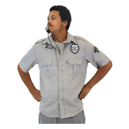 Friday After Next Top Flight Security Shirt and Whistle Costume Set
