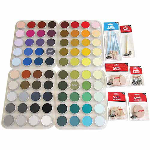Colorfin PanPastel Ultra Soft Artist Full-Color Pastel Set, 9ml