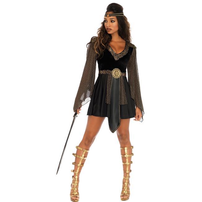 Morris Costumes UA86682XXX Adult 3X Glamazon Warrior, 22 to 26 - 2 Piece - image 1 of 1