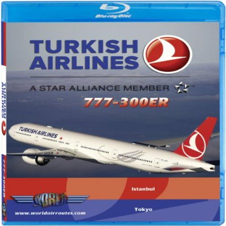Turkish Airlines Boeing 777 300Er  Blu Ray