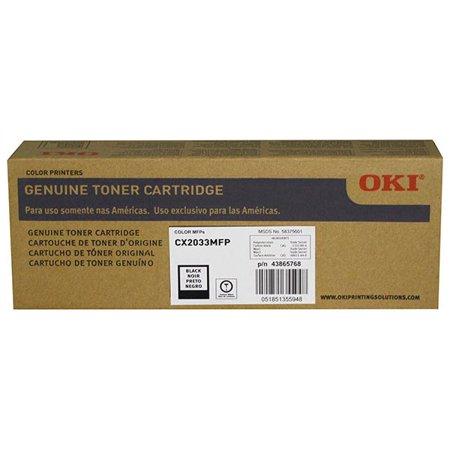 OKI Black Toner Cartridge (8 000 Yield) (Type C11)
