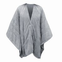 Serta Snuggler Heated Electric Wearable Cape and Throw