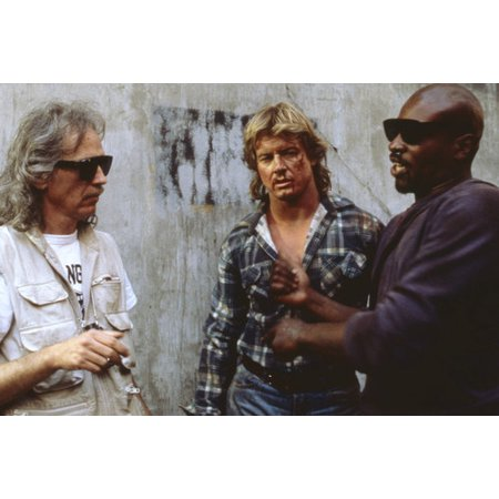 John Carpenter and Roddy Piper and Keith David in They Live 24x36 Poster - Halloween John Carpenter Theme Mp3