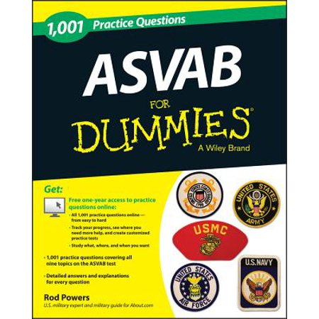 1,001 ASVAB Practice Questions for Dummies (+ Free Online
