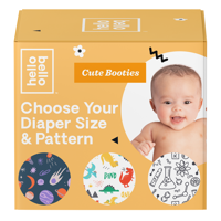Hello Bello Cutie Booties Jumbo Pack (Choose Size & Pattern)