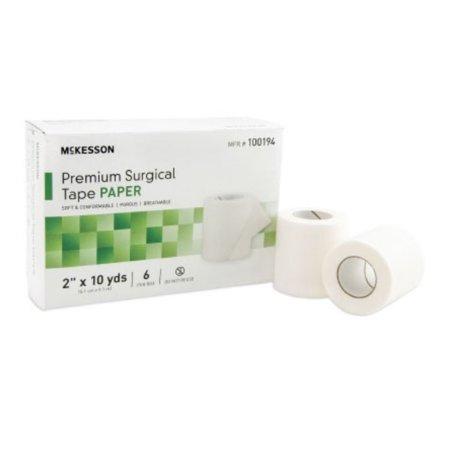 McKesson Skin Friendly Paper Medical Tape 100194, 2 Inch x 10 Yard, 1 Each, (Medical Tape That Doesn T Irritate Skin)