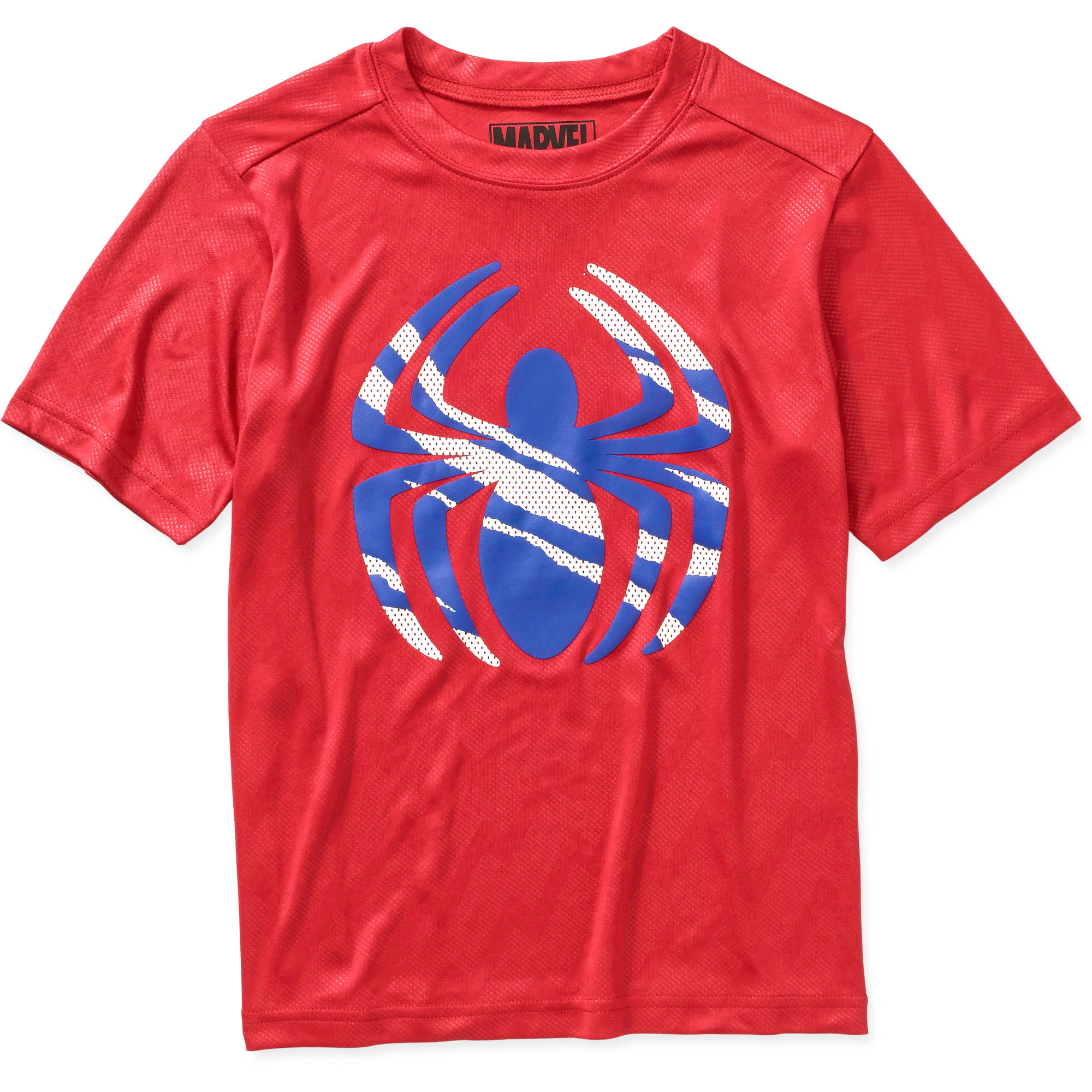 Marvel Spiderman Stay Hungry Boys' Poly Graphic Tee