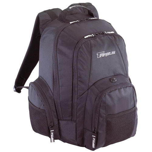 "Targus 15.4"" Groove Backpack (Black/Grey), CVR600"
