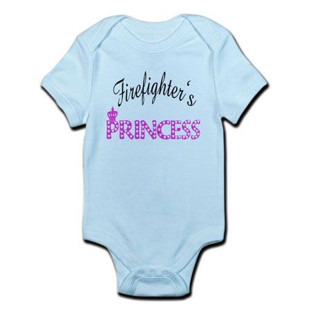 CafePress - Firefighters's Princess Infant Bodysuit - Baby Light Bodysuit](Princess Peach Onesie)