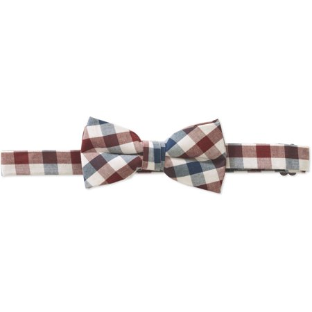 Genevieve Goings Collection Boys Pink Pre-Tied Adjustable Bow (Pretied Wedding Cravat)