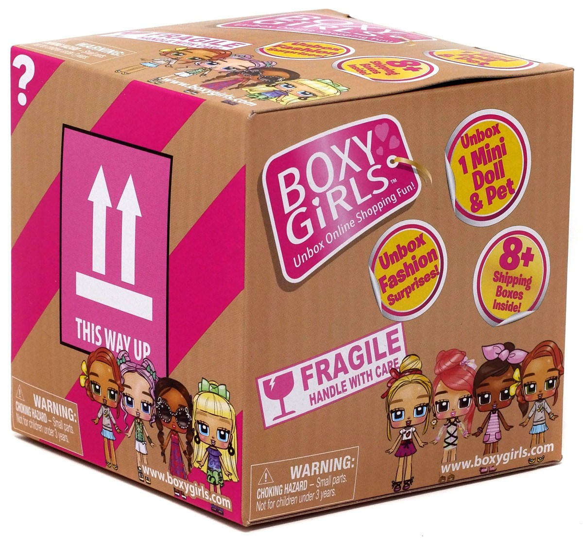 Boxy Girls Mini Crate