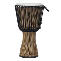 "Pearl PBJVR12698 12"" Rope Tuned Djembe - Zebra Grass"