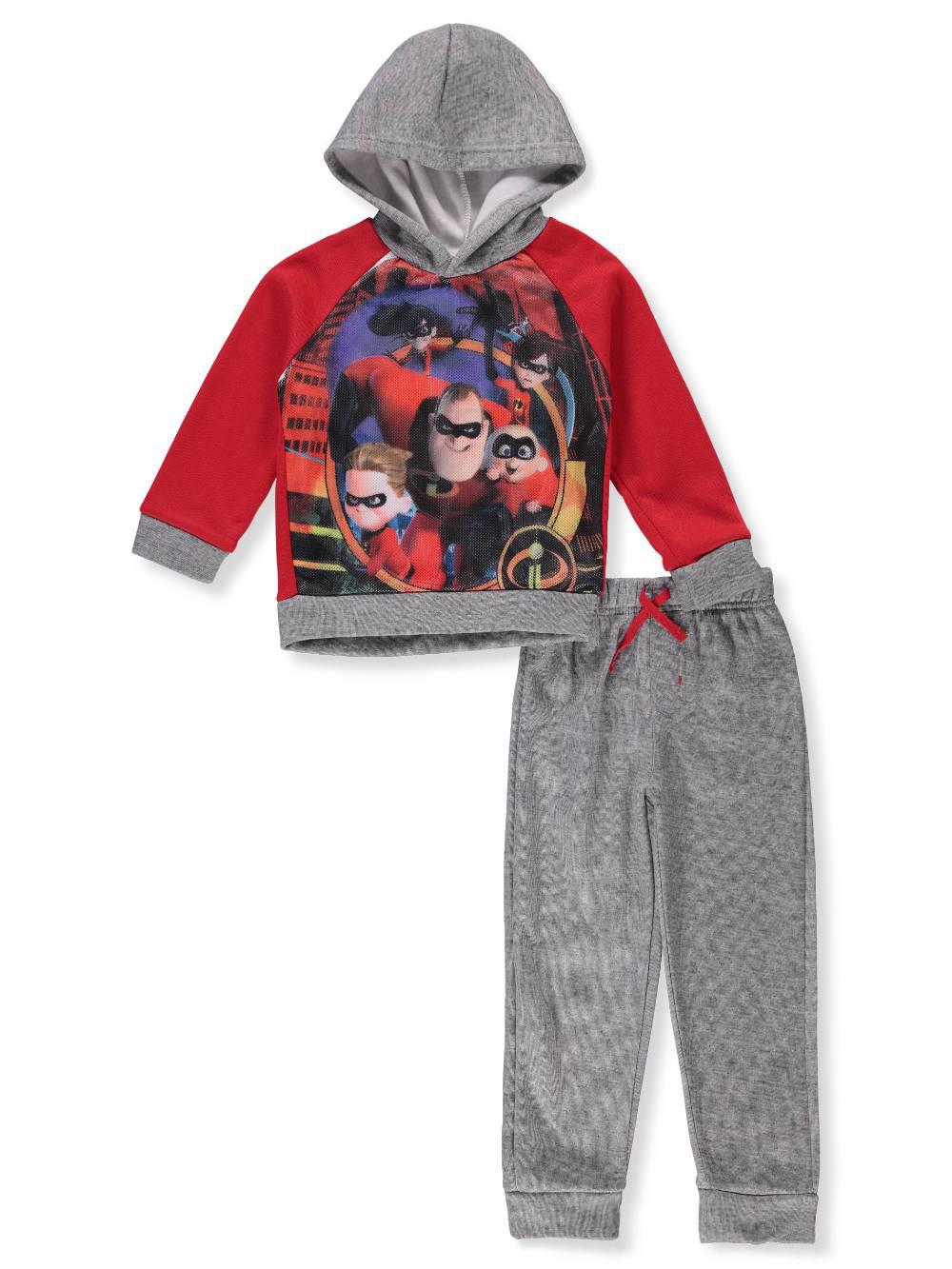 Disney Incredibles Boys' 2-Piece Pants Set Outfit