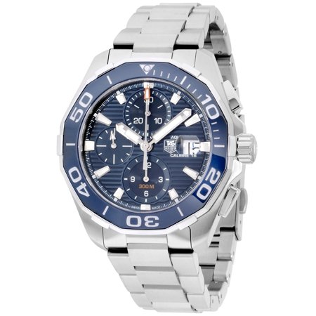 Tag Heuer Aquaracer Blue Dial Stainless Steel Men's Watch CAY211B.BA0927 ()