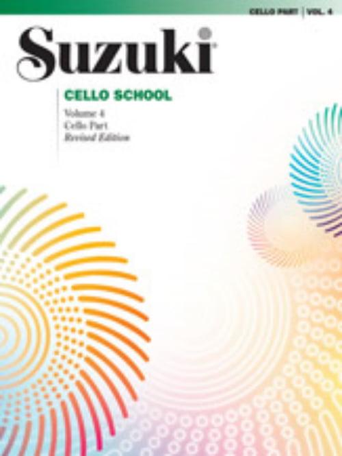 Suzuki Cello School BK Vol. 4, 0266S by Alfred Publishing