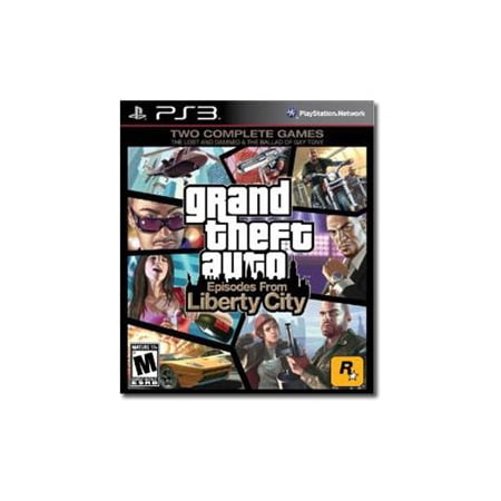 Grand Theft Auto: Episodes From Liberty City (PS3) - (Cheats For Gta 4 Episodes Of Liberty City)