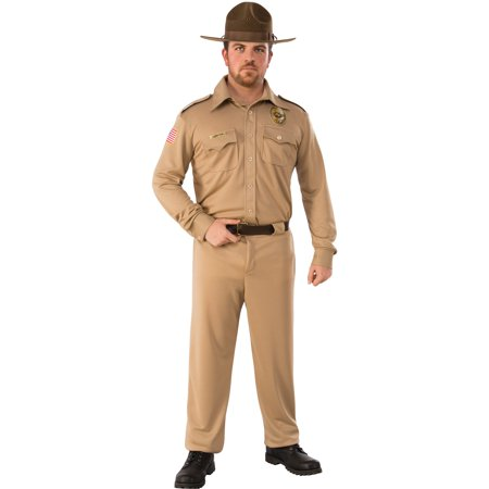 Stranger Things-Mens Jim Hopper - Thing One And Thing Two Costumes