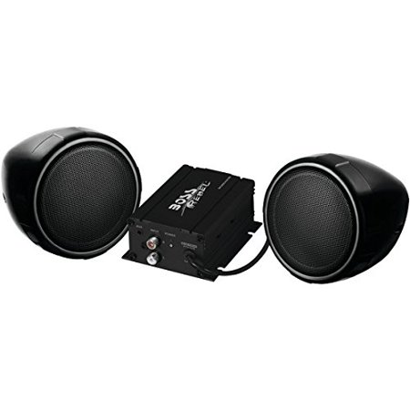 Boss Audio Systems MCBK420B Black 600W Motorcycle/ATV Sound