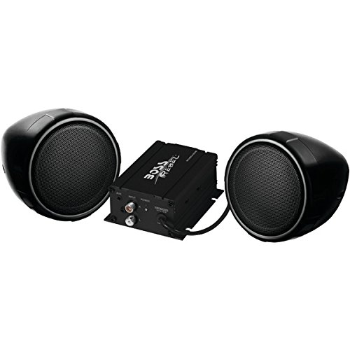 Boss Audio Systems MCBK420B Black 600W Motorcycle/ATV Sound System