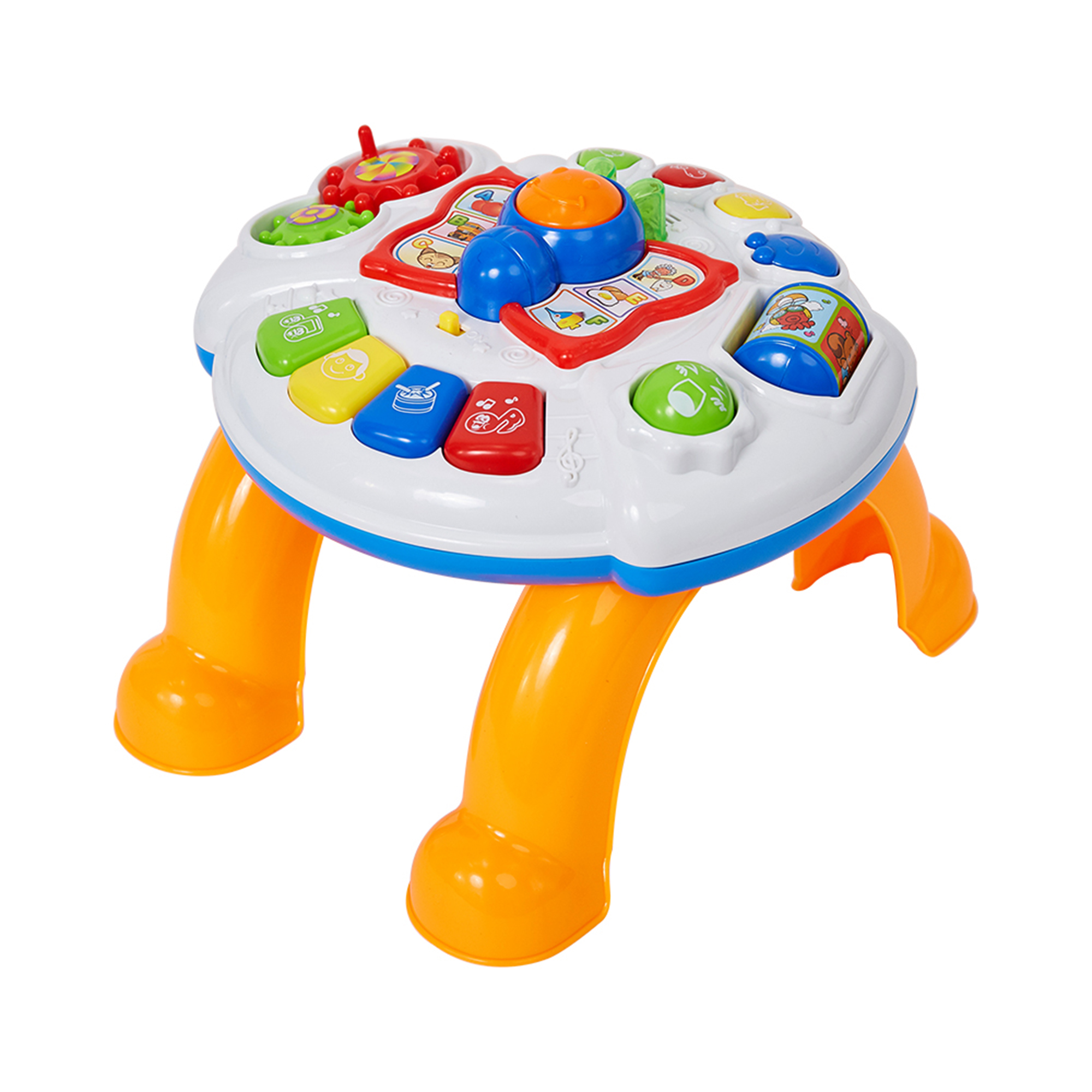 KARMAS PRODUCT Kids Play and Learning Table Activity Desk Musical Baby Toy by KARMAS PRODUCT