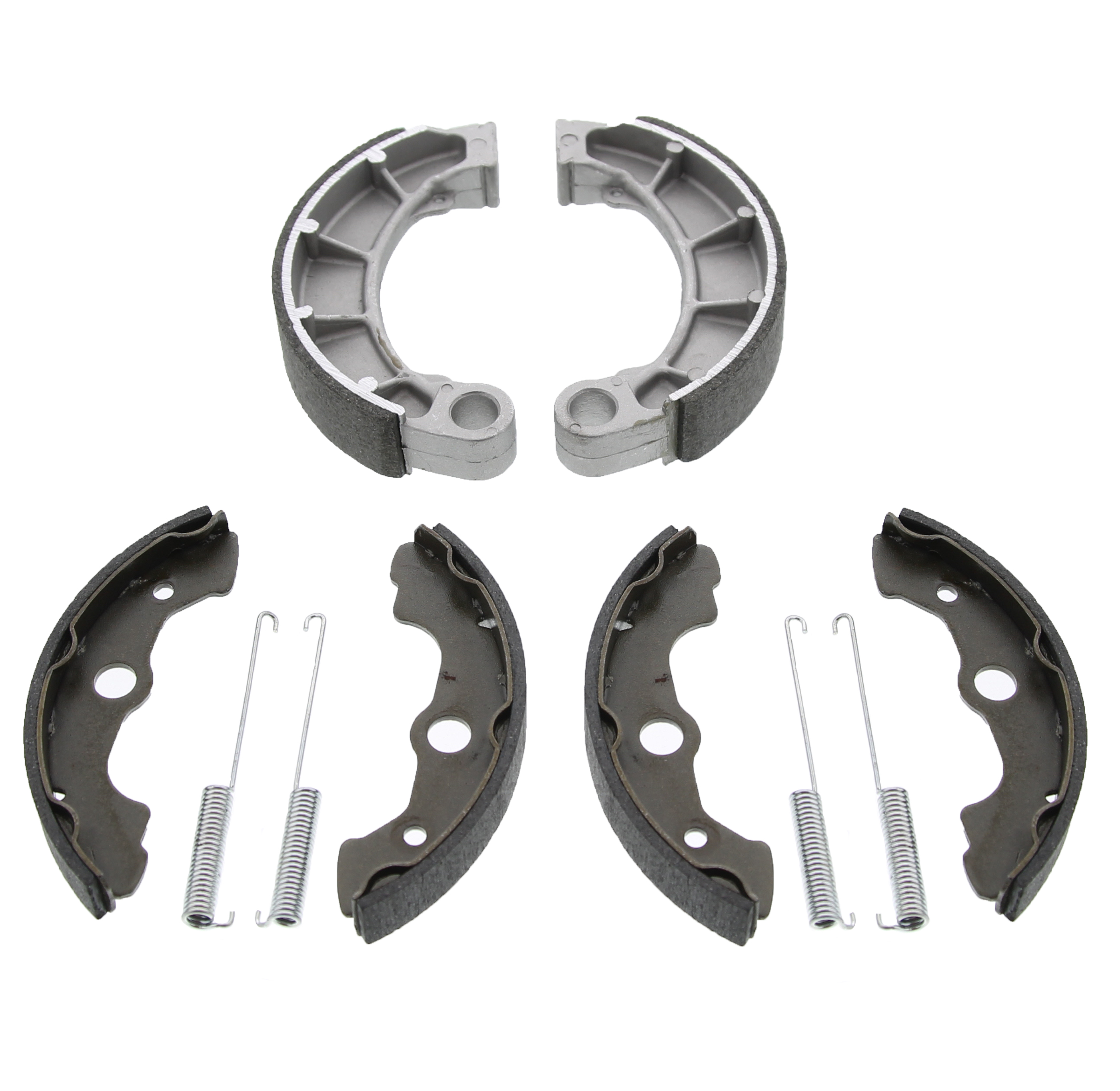 2000 Honda TRX350TM TRX350 350 Fourtrax Rancher Front and Rear Brake Shoes by Race-Driven